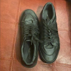 Men's Black Express Sneakers
